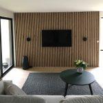 Living room Rustic Natural Oak