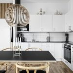 Rustic Natual Oak dining room WoodUpp panels